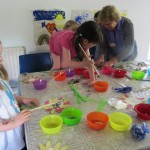 Children's painting, Cana Week 2014, Esker