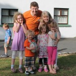 Mark, Amanda & family, Cana Week, Esker 2013